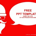 Merry christmas with santa PowerPoint Templates  (1)