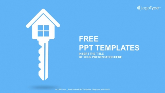 Real estate key PowerPoint Templates  (1)