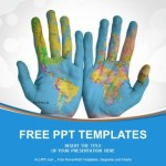 World-Map-Painted-on-Hands-PowerPoint-Templates- (1)