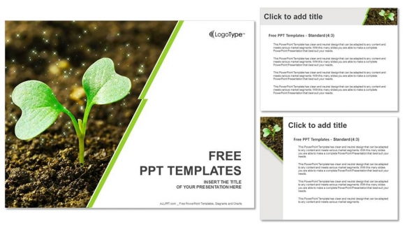 Young plant sprouting powerpoint templates young plant sprouting powerpoint templates 4 toneelgroepblik