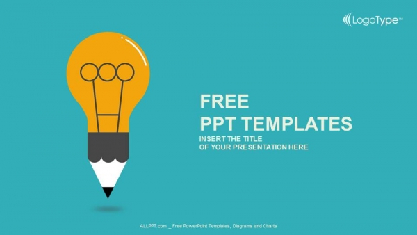 Free powerpoint templates education symbol bulb powerpoint templates toneelgroepblik Choice Image