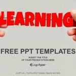Hand and word Learning PowerPoint Templates  (1)