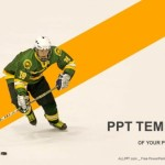 Ice hockey player PowerPoint Templates  (1)