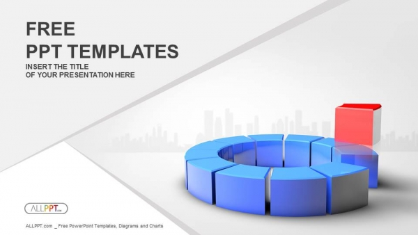 Free finance powerpoint templates design leadership of one of the parts powerpoint templates toneelgroepblik Image collections