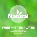 Natural product logo design PowerPoint Templates  (1)