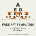 Optician- Vision Of Eyesight Vector PowerPoint Templates (1)