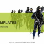 Special weapons and tactics team PowerPoint Templates  (1)