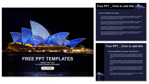 Sydney opera house travel powerpoint templates sydney opera house travel powerpoint templates 4 toneelgroepblik