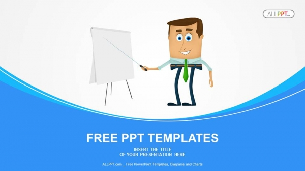 Businessman Presentation PowerPoint Templates  (1)