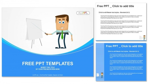 Businessman Presentation PowerPoint Templates (4)