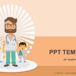 Doctor and patients PowerPoint Templates  (1)