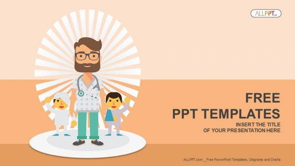 doctor and patients powerpoint templates, Powerpoint templates