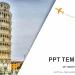 Leaning tower of Pisa-Travel PowerPoint Templates  (1)