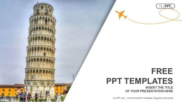 Leaning tower of pisa travel powerpoint templates toneelgroepblik Gallery