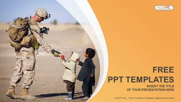 Soldier and children military powerpoint templates toneelgroepblik Gallery