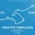 Abstract illustration handshake PowerPoint Templates (1)