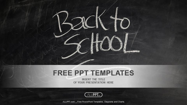 chalkboard powerpoint templates free download - back to school powerpoint templates