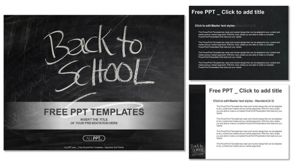Back to school PowerPoint Templates (4)