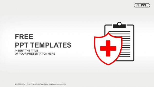 Free simple powerpoint templates design flat medical icon medical history on a white background powerpoint templates toneelgroepblik