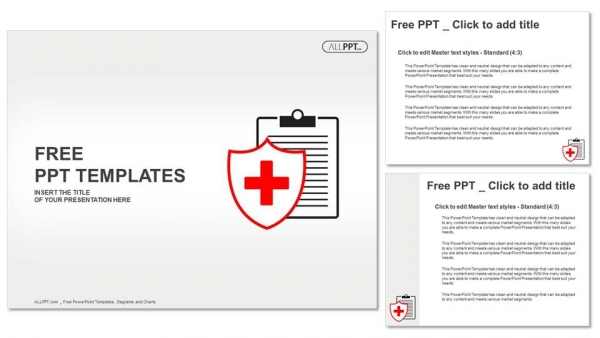 Flat Medical Icon Medical History On A White Background Powerpoint