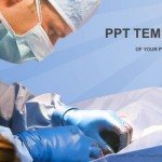 Veterinarian surgery in operation room PowerPoint Templates  (1)