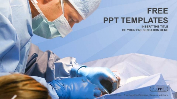Veterinarian surgery in operation room powerpoint templates toneelgroepblik Images