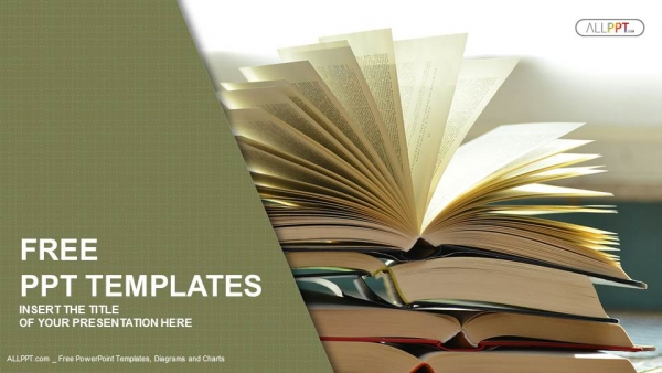 Ppt template book yeniscale ppt template book toneelgroepblik Image collections