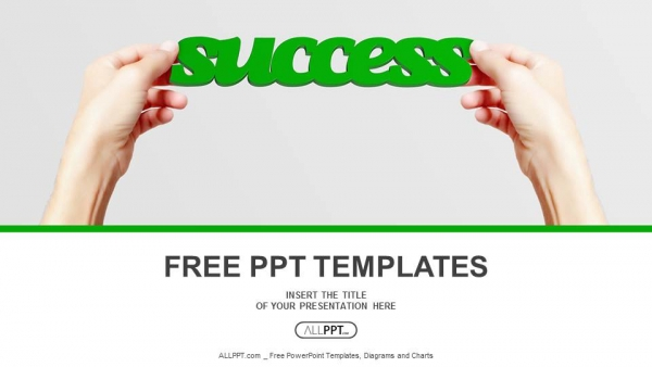 Hand and word success isolated powerpoint templates hand and word success isolated powerpoint templates 1 maxwellsz