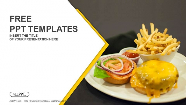 Food Powerpoint Templates Design