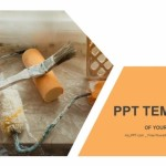 Tools and accessories for home renovation PowerPoint Templates (1)