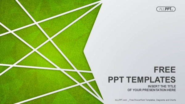 Free powerpoint templates abstract green background for streaks design powerpoint templates toneelgroepblik