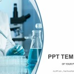 Scientific researcher in medical PowerPoint Templates (1)