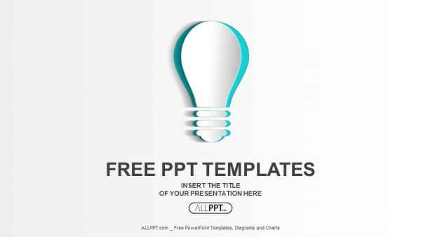 Free education powerpoint templates design abstract paper idea bulb powerpoint templates toneelgroepblik Gallery