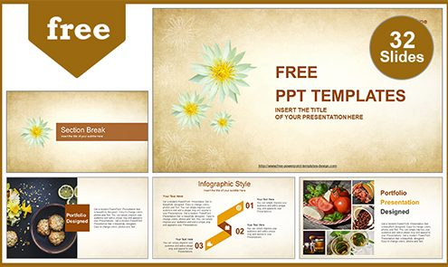 Abstract-White-Flowers-PowerPoint-Template-list