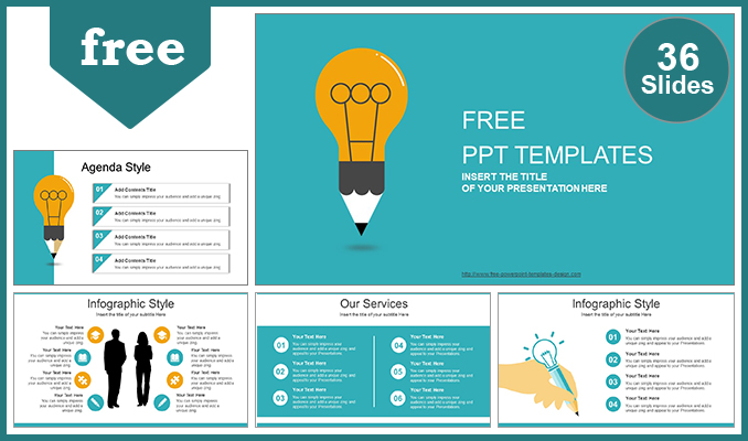 Free powerpoint templates creative idea bulb powerpoint template list toneelgroepblik Gallery