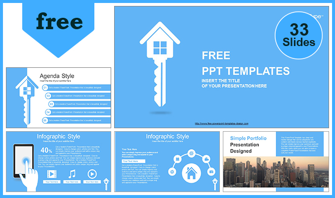 Real-Estate-House-Key-PowerPoint-Templates-POST