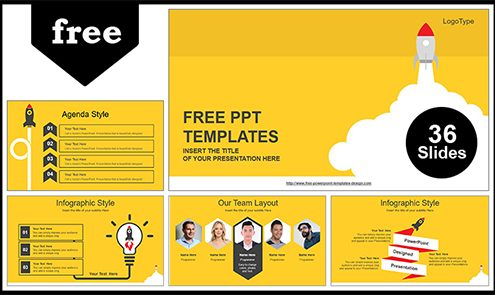 Free Colorful Powerpoint Templates Design