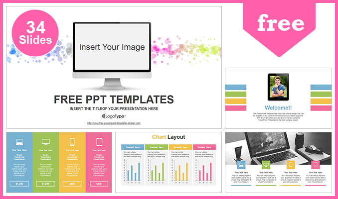Simple monitor powerpoint template simple monitor powerpoint templates post toneelgroepblik Gallery