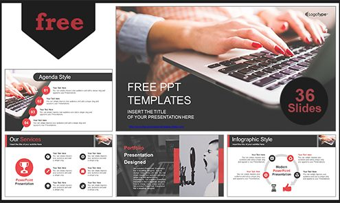 Computer-Business-Using-Laptop-PowerPoint-Template-LIST