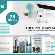 Simple-Office-Computer-View-PowerPoint-Template-list