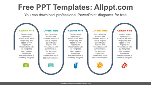 Five-Flow-Process-PowerPoint-Diagram-Template-list-image