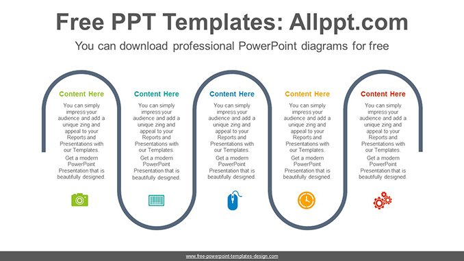 Five-Flow-Process-PowerPoint-Diagram-Template-post-image