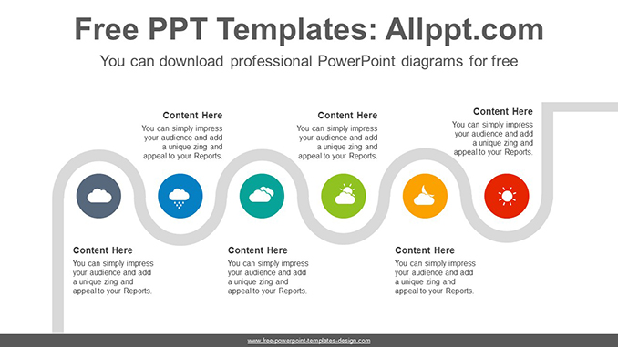 Flexible snake PowerPoint Diagram Template-post image