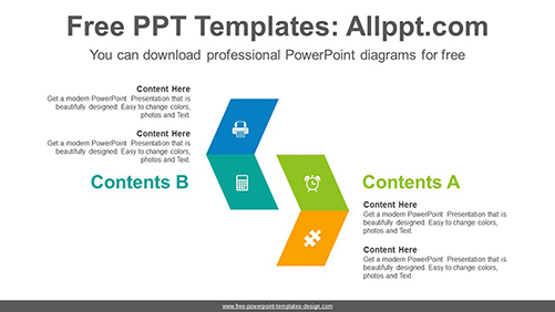 Parallelogram-collation-PowerPoint-Diagram-Template-list-image