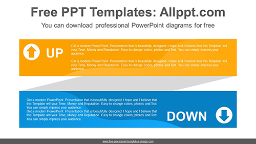 Ribbon text box PowerPoint Diagram Template-list image