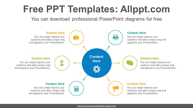 6 circles PowerPoint Diagram Template-post image
