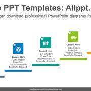 Arrow highlighted square PowerPoint Diagram Template-list image