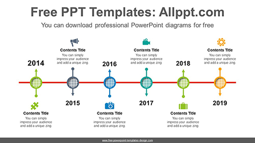 Arrows through circle PowerPoint Diagram Template-list imageArrows through circle PowerPoint Diagram Template-list image
