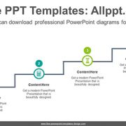 Cascade circle PowerPoint Diagram Template-list image