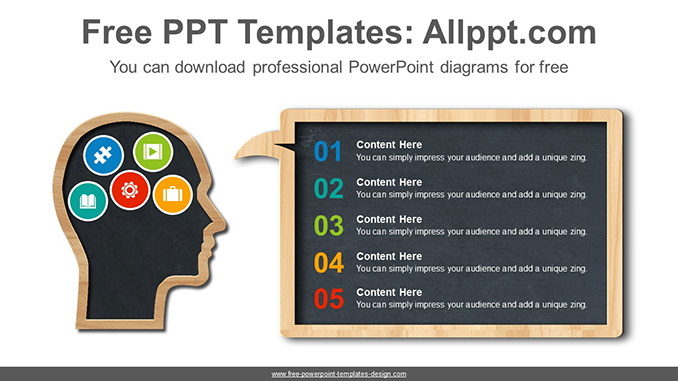Head board PowerPoint Diagram Template-post image